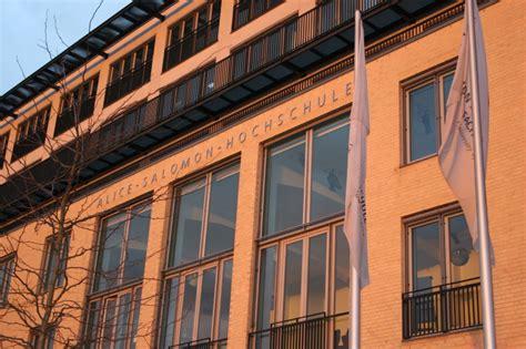Bewerbung Salomon Hochschule Berlin Fachhochschulen Berlin De