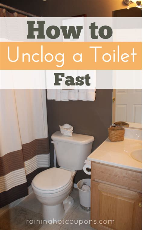 how to toilet a quickly how to unclog a toilet fast