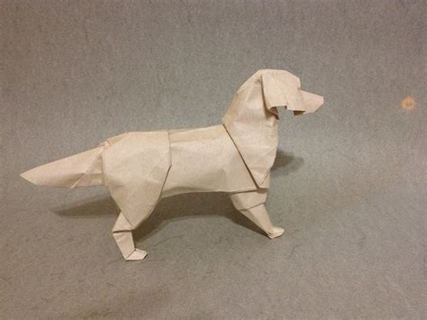 origami golden retriever 26 best images about origami on border collies
