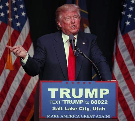 donald trump utah donald trump photos photos donald trump holds rally in