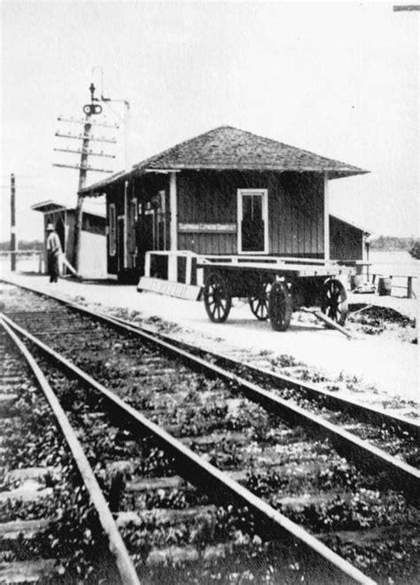florida memory florida east coast railway depot