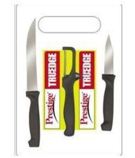 prestige kitchen knives prestige tru edge 99576 kitchen knife set with cutting