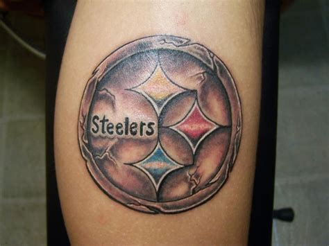 pittsburgh steelers tattoos steelers style pictures to pin on