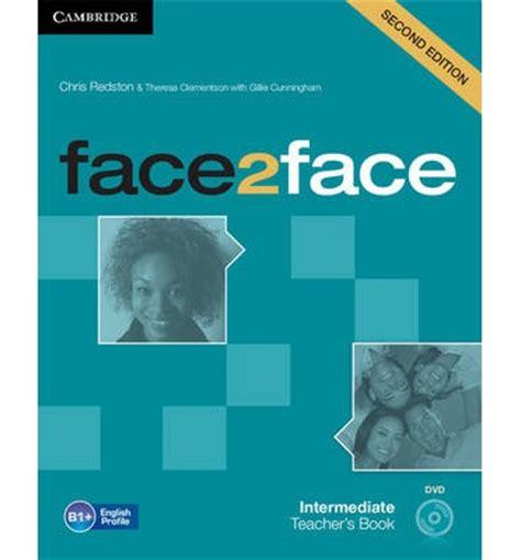 Face2face face2face intermediate s book with dvd chris