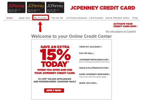 jcpenney credit card payment make payment jcpenney credit card login make a payment creditspot