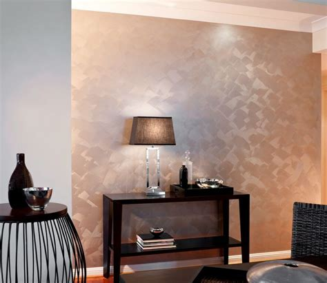17 images about metallic wall paint on wall finishes painted walls and stencils