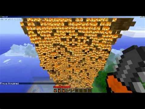 biggest minecraft fire  youtube