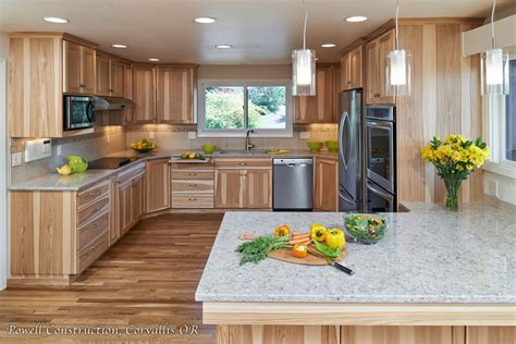 hickory cabinets with granite countertops hickory quartz countertops with calico hickory quarter sawn