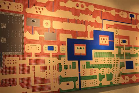 Video Game Wall Murals more giant video game overworld map stage murals geekologie