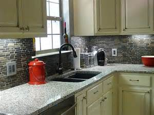 Black Backsplash Kitchen How To Install Tile Otago Kitchen Backsplash