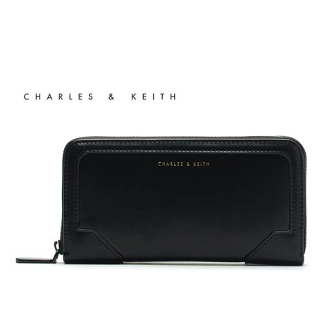 Wallet Charles Keith Ori singapore fashion designer clutch brand clutch charles and keith bags wallets