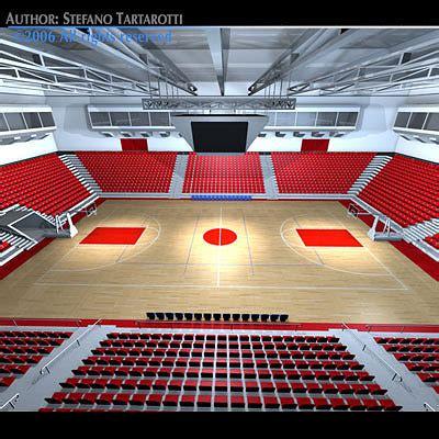 basketball arena basketball arena 3d cgtrader