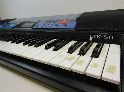 Keyboard Casio Ctk 100 casio ctk 511 electric keyboard 100 tones rhythms tested musical instrument ebay