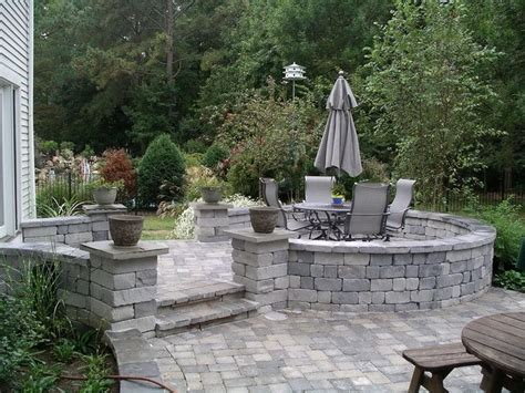 Raised Patio Design Raised Patio Designs Images For The Home Outside Space Pinterest
