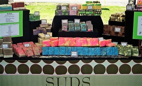 Handmade Soap Displays - suds handmade soap co soap display craft show ideas