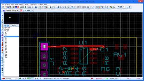 pcb design tutorial youtube proteus schematic to pcb tutorial tutorial pcb design