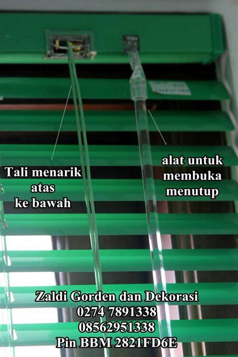 1 Meter Gorden Tirai Dapur Rainy gorden horizontal blind kualitas internasional model