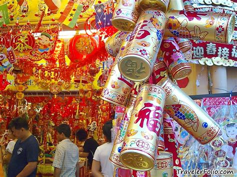 new home decoration new year decoration chinatown singapore