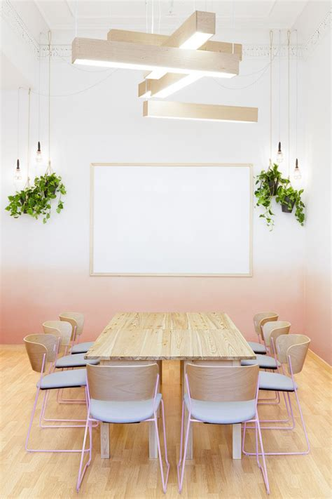 ombre wall wall decor idea create an ombre look for a soft artistic