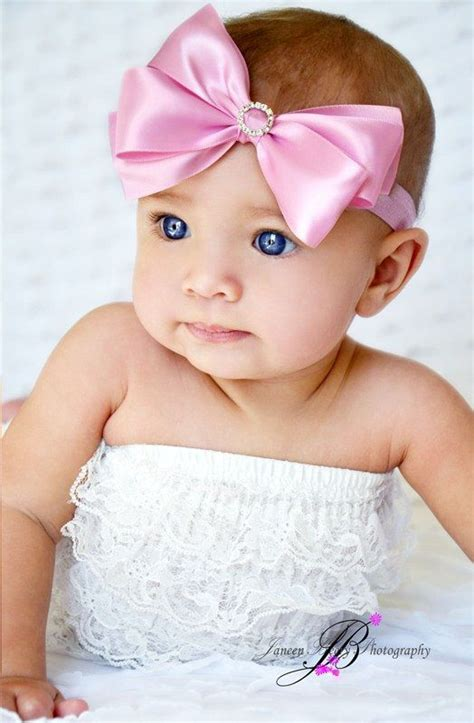 beautiful babies with headbands baby headband or the new baby cutest baby baby blue blue eye
