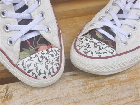 How To Decorate Your Converse by Converse Decorate Fenbi It