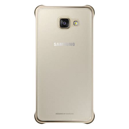 Clear View Cover Samsung A3 2016 official samsung galaxy a3 2016 clear cover gold