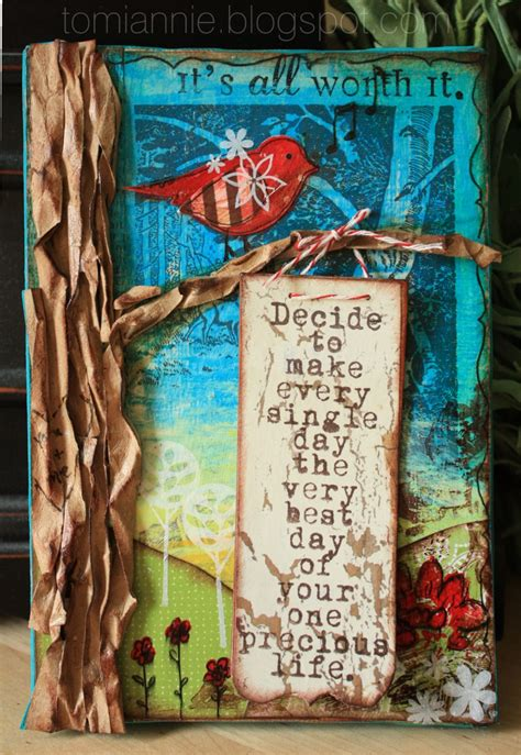 create your book mixed media projects for expanding creativity and encouraging personal growth books just what i squeeze in quot make every day the best day