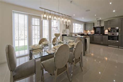 grey silver kitchen wimpey show home kitchen