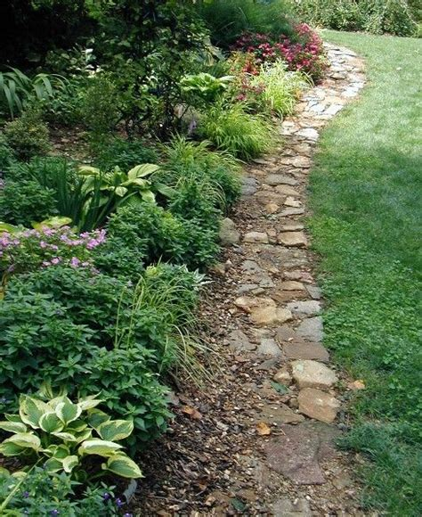 Rock Garden Borders 193 Best Gardens Walkways Gates And Fences Images On Pinterest