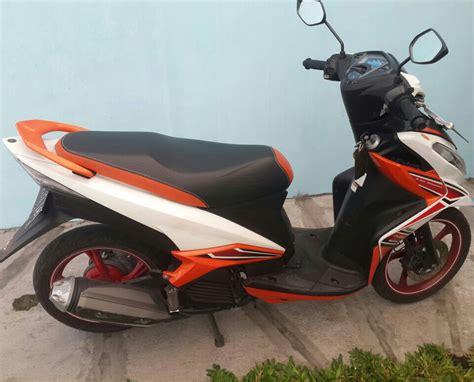 Yamaha Xeon Rc 125 Putih Th 2015 yamaha xeon rc 2013 putih orange orisinil berkualitas
