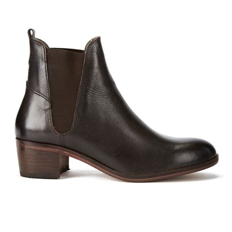 hudson s compound leather chelsea boots