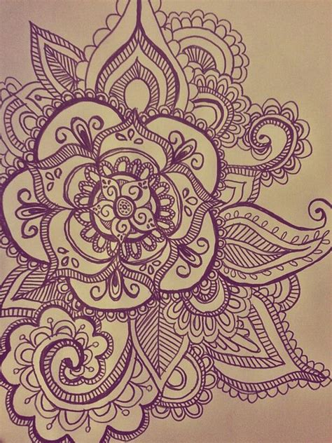 hard tattoo designs quot my mandala drawing for henna quot guys circles and