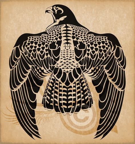 falcon tattoo designs horus peregrine falcon by amoebafire tattoos