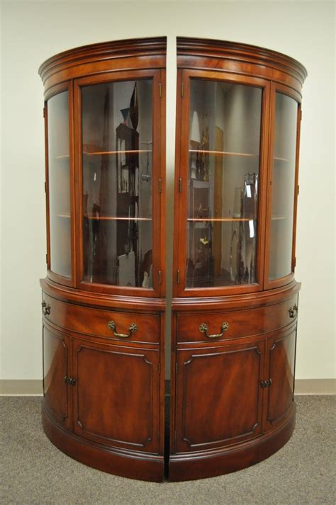 antique corner china cabinet antique china hutch with curved glass antique curved