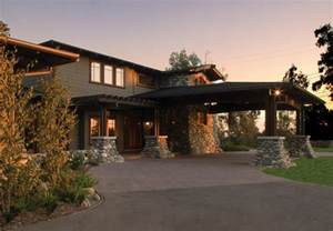 Craftsman House Plans With Porte Cochere by Live Oak Canyon Residence Craftsman Exterior Other