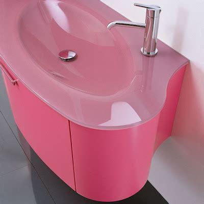 pink bathroom sink modern bathroom design in pink color