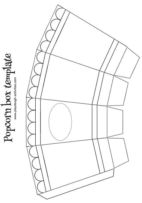 popcorn container template pretty template for popcorn box ideas resume ideas