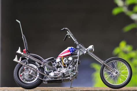 Motorrad Captain America Film by Easy Rider Franklin Mint Echelle 1 10 Easy Rider