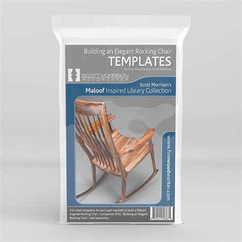 rocking chair template learn how to build an rocking chair with