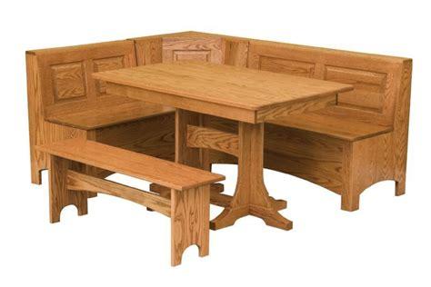Kitchen Nook Furniture Trestle Table Breakfast Nook Set Nook Storage Benches