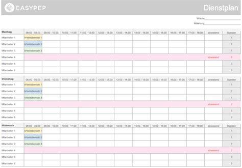 Kostenlose Vorlagen Excel Excel Vorlage Personalplanung 100 Kostenlos Easypep