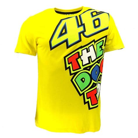 Sticker Vr46 07 moto gp valentino vr46 yellow 46 the doctor t shirt