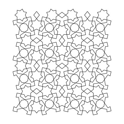 free printable tessellation coloring pages