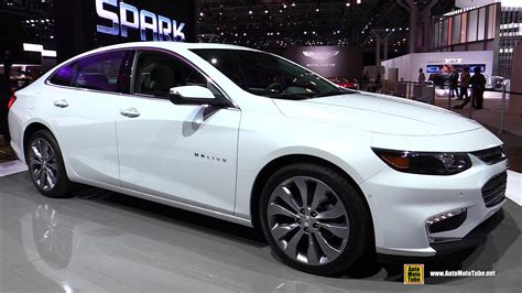 2016 Chevrolet Malibu 2.0T Exterior and Interior Walkaround Debut at 2015 New York Auto Show