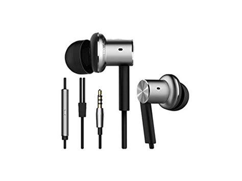 Xiaomi Mi In Ear Headphones Basic Silver Tam xiaomi qter01jy original mi piston iron hybrid earphone import it all