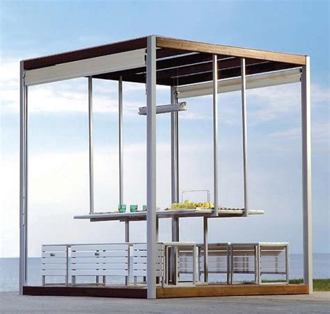 gazebi moderni gazebo canopies kuba modern gazebo design by pircher