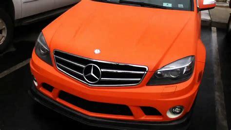 orange mercedes c63 matte orange 6 3 amg mercedes