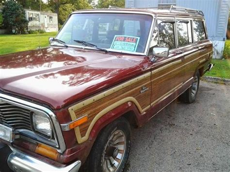 jeep wagoneer for sale 1985 jeep grand wagoneer 360 engine for sale in london ohio