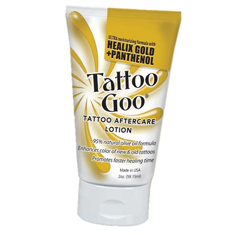 lotion for tattoo aftercare goo lotion premier