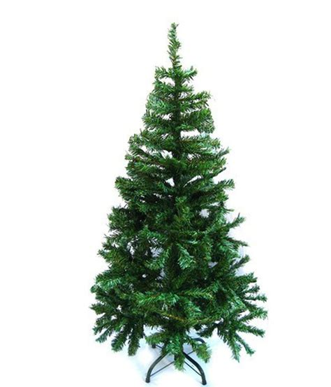 sparkle 6 feet artificial christmas tree pvc green with